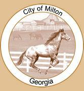 Milton GA city seal
