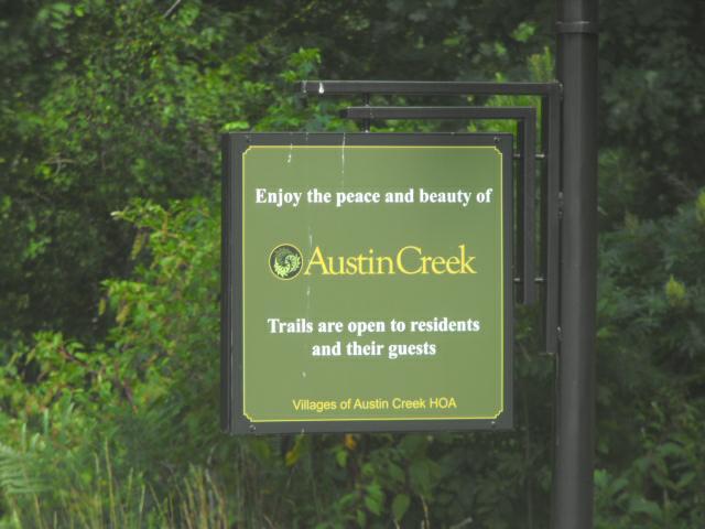 Austin Creek Wake Forest NC