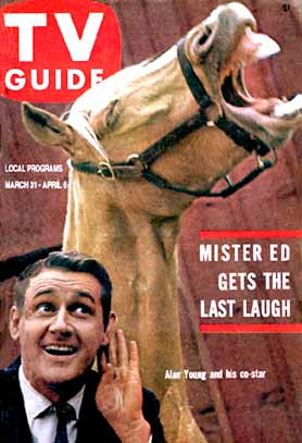 Mister Ed and his owner Wilbur