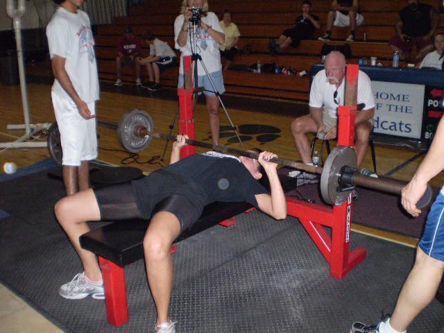 Sam Shores RAW United Powerlifting World Record Holder