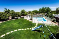 Divine Mesa Az estates for sale with resort style backyard