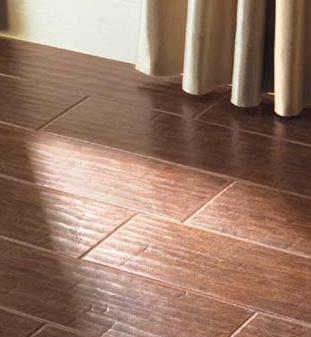 lowes chair rail tile armless slipcovers ceramic that looks like wood flooring