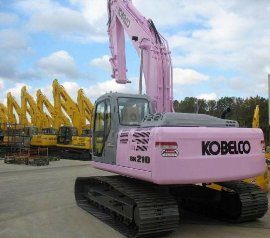 Kobelco helps the fight against breast cancer