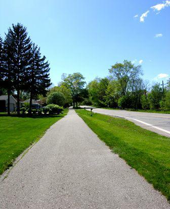 bike trail on Ada Dr ada mi