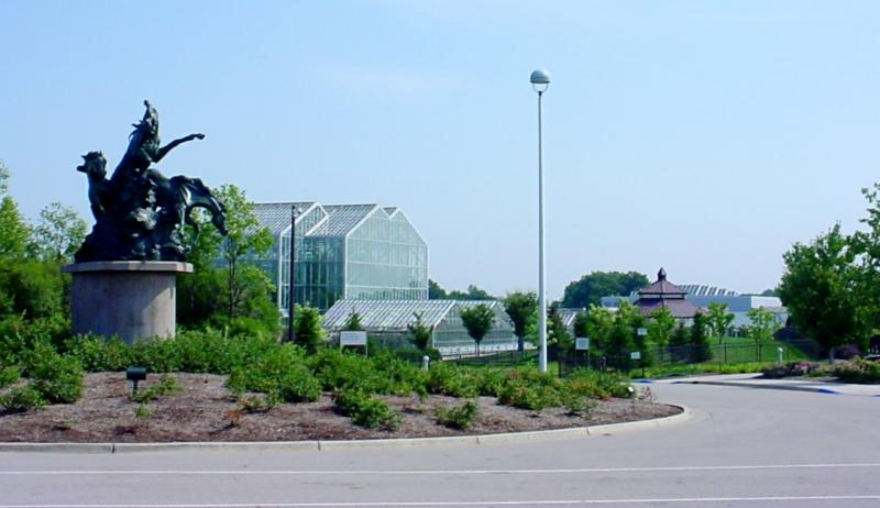 Meijer Gardens Entrance Grand Rapids Township MI