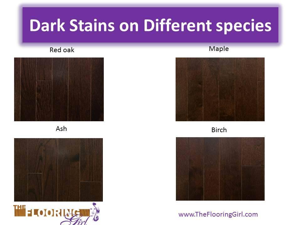 Staining Birch Dark