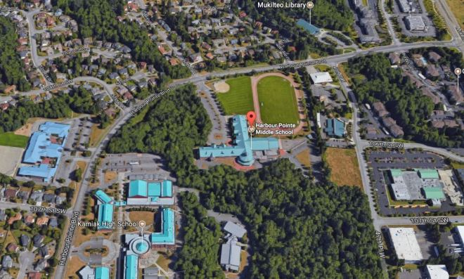 Image result for harbour pointe middle school