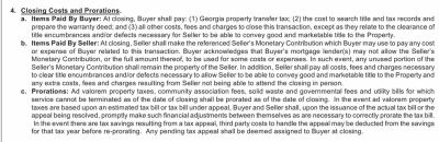 Closing costs in Georgia... what can the seller pay?
