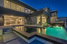 Las Vegas Luxury Homes with Pool Houses