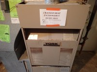 Cracked Heat Exchanger on York Furnace in Omaha, NE