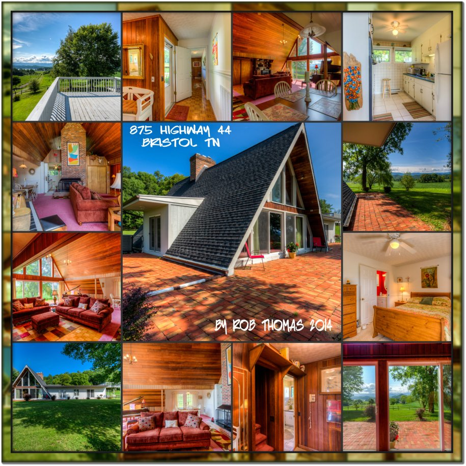 A-Frame Home For Sale in Bristol TN Near South Holston ...