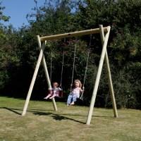 wooden garden swing frames