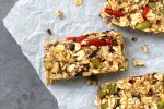 RAW Vegan Superfood Granola Bars