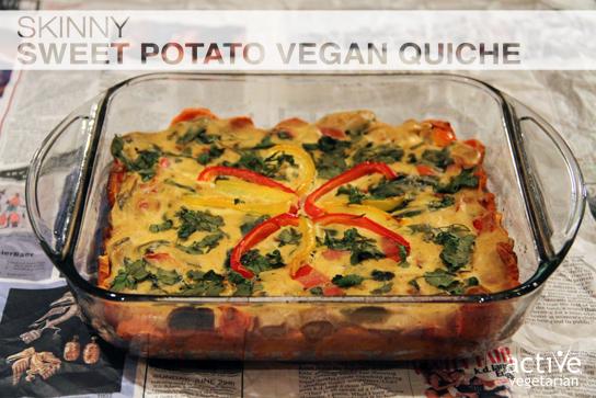 Skinny Sweet Potato Quiche - site