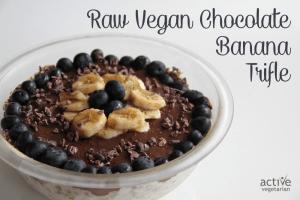 Raw Vegan Banana Chocolate trifle 2