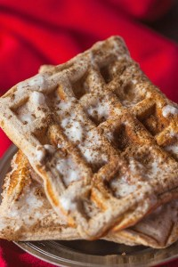 healthy-cinnamon-roll-waffles-3