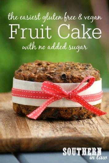 Vegan Fruit Cake Recipe with No Added Sugar