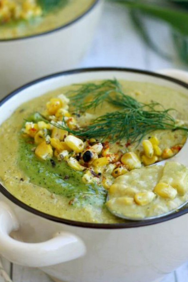 The Best Vegan Corn Chowder
