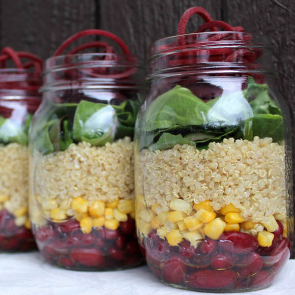 Mighty Mason Jar Salads