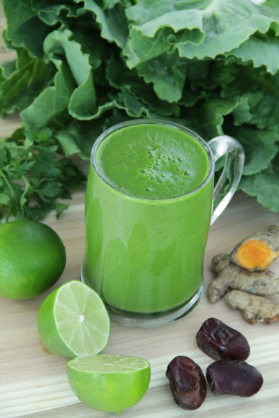 The Good Morning Smoothie by Active Vegetarian #smoothie #greens #raw #nutrients 3
