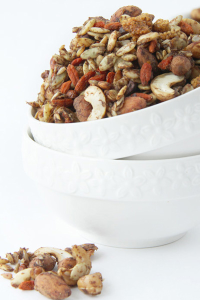 This is s sprouted yogi snack recipe made by Active Vegetarian