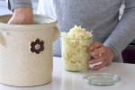 Home made European Sauerkraut with Caraway recipe made by Active Vegetarian
