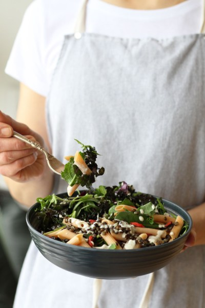 Plant-Protein-Pasta-Salad-Bowl2by active vegetarian