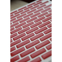 Metallic Kitchen Wall Tiles Paint Suggestions For Bright Red Mosaic Luxury 3d Gel Tile Transfer