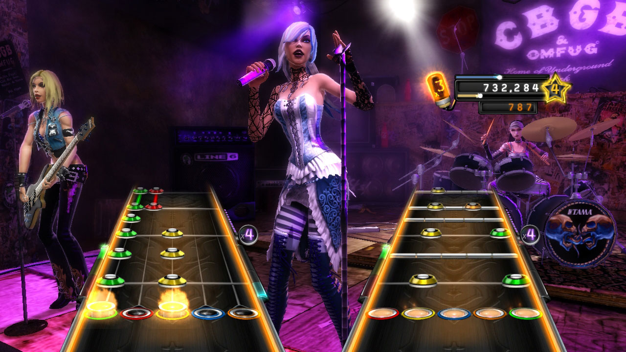 Ninja Fantasy Girl Wallpaper Guitar Hero 174 Warriors Of Rock Media