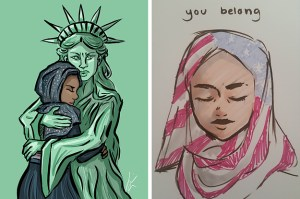 Here Are 21 Cartoons People Are Sharing In Response To Trump's Refugee Ban – BuzzFeed News