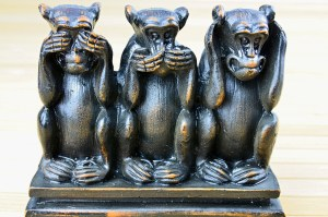 3 Monkeys - See No Evil, Hear No Evil, Speak No Evil