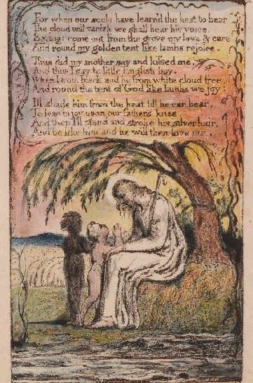 """Songs of Innocence,"" 1789-1794. Yale Center for British Art, Paul Mellon Collection."