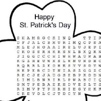 St. Patrick's Day Word Search Printable