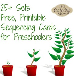 The Activity Mom - Sequencing Cards Printable - The Activity Mom [ 2000 x 2000 Pixel ]