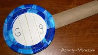 The Activity Mom - Paper Plate Craft - G is for Guitar ...