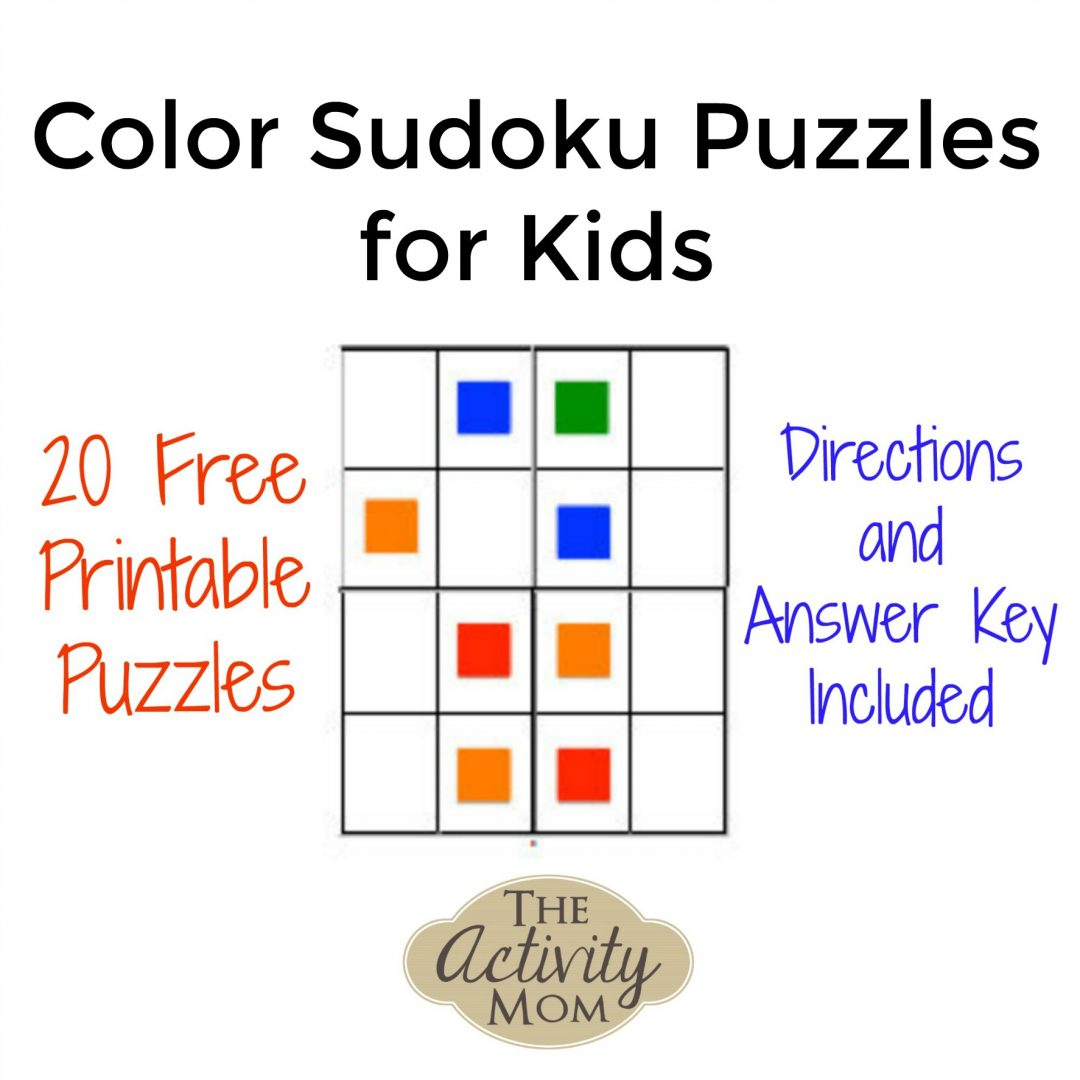 The Best Printable Sudoku For Kids