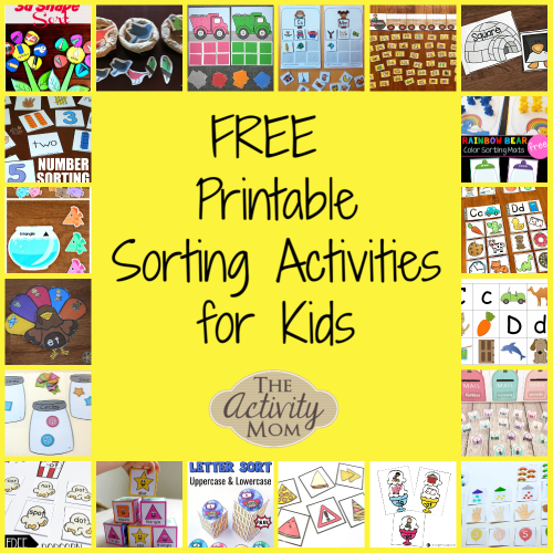 small resolution of The Activity Mom - Free Printable Sorting Activities - The Activity Mom