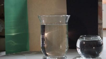 light in water lens