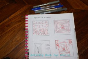 squares in squares by 6-y-o