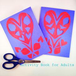 paper cut card