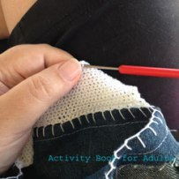 single crochet stitch continued
