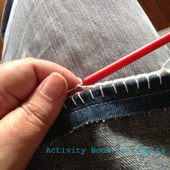 single crochet stitch