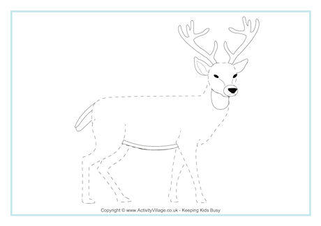 Deer Tracing Page