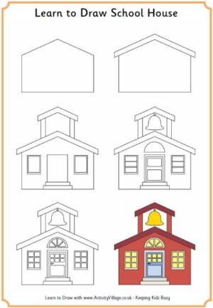 draw learn drawing drawings simple building easy step doodle activityvillage lessons printables elementary fun learning outline sketch explore things tutorials