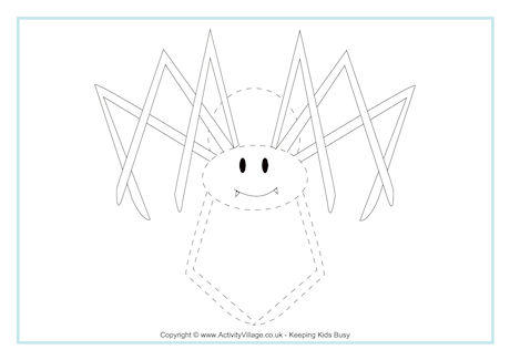 Spider Tracing Page