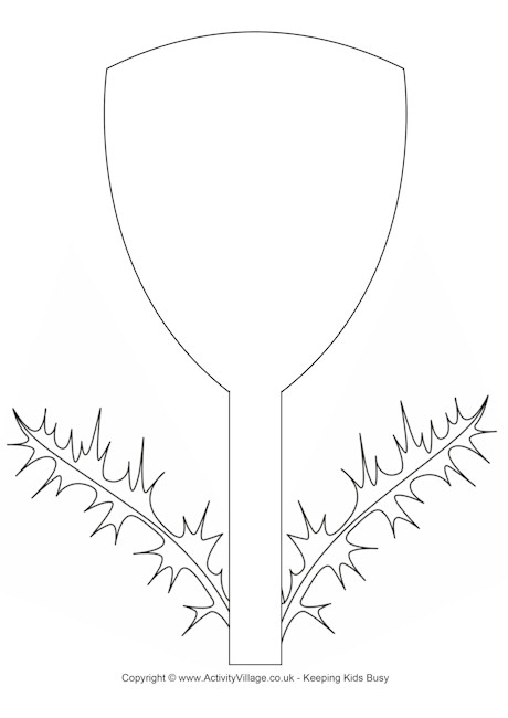 Thistle Template