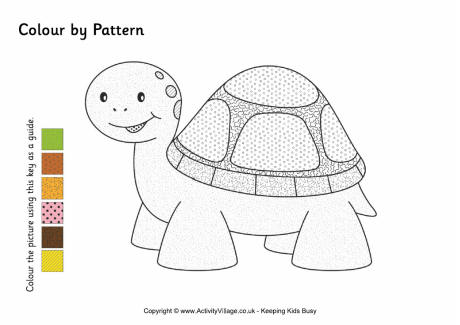 Tortoise Colour by Pattern