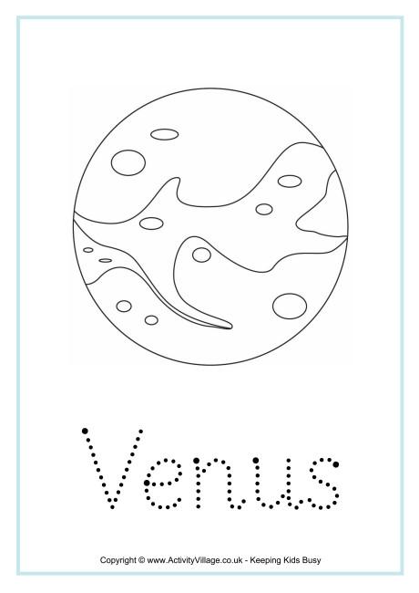 Venus Word Tracing