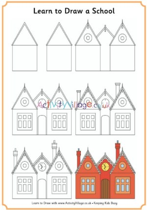 draw learn victorian drawings drawing easy victorians step dibujar classroom mansion history activityvillage escuela children casa printable activity era things