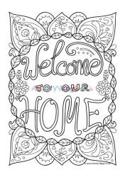 colouring welcome pages heart log quotes become member activity activityvillage